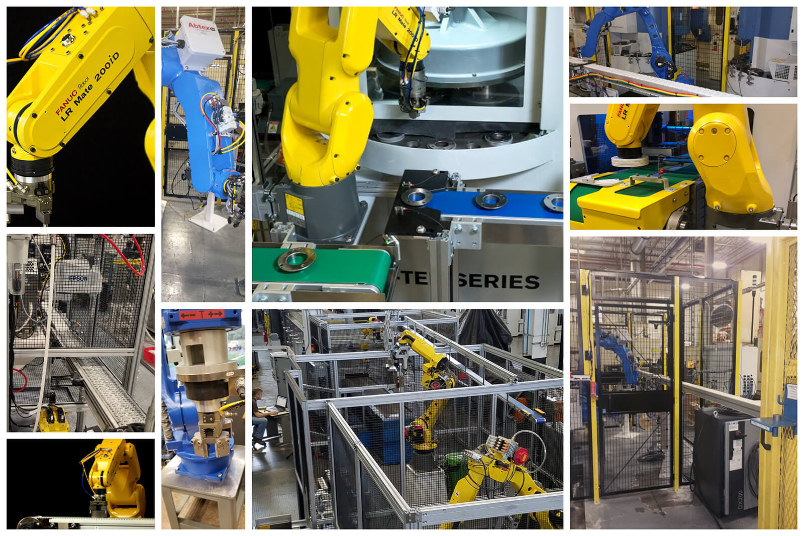 Abtex Robotics Collage